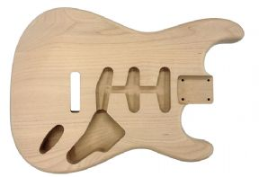 STRAT BODY ALDER UNFINISHED